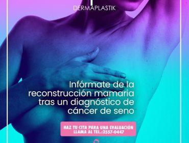 ¿Qué es la reconstrucción tras una mastectomía?